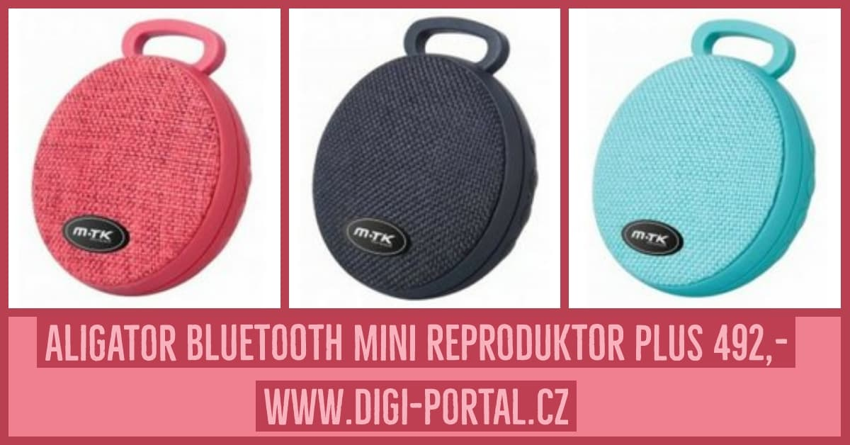 Aligator Bluetooth mini reproduktor